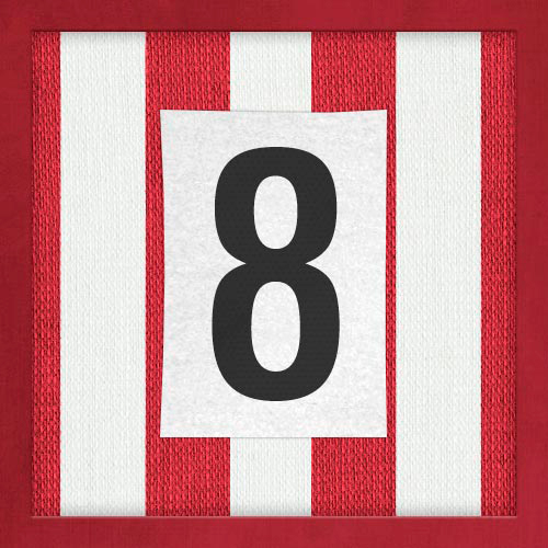 Dorsal numero 8