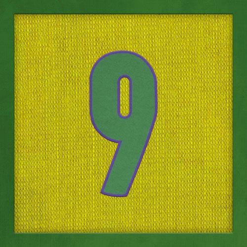Dorsal numero 9