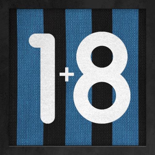 Dorsal numero 18