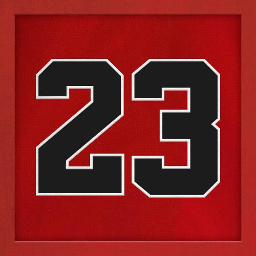 Dorsal numero 23