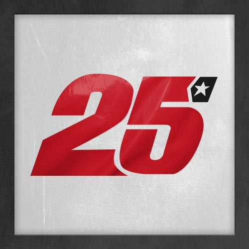 Dorsal numero 25
