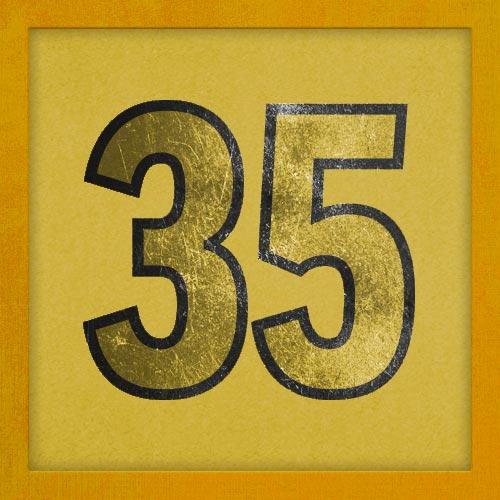Dorsal numero 35