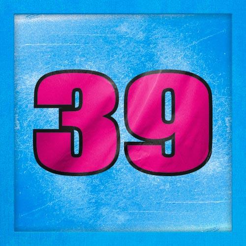 Dorsal numero 39