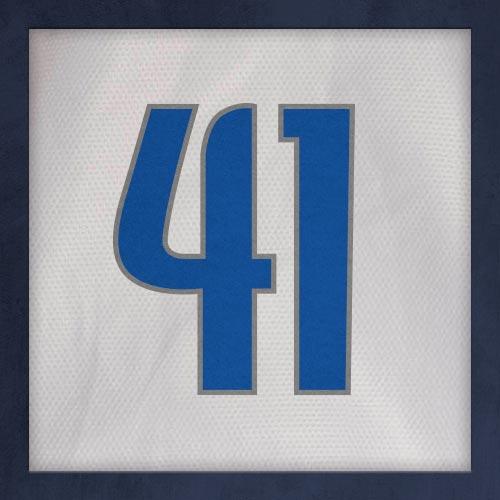 Dorsal numero 41