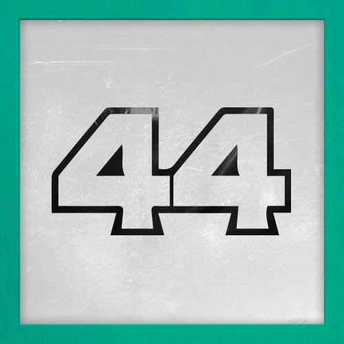 Dorsal numero 44