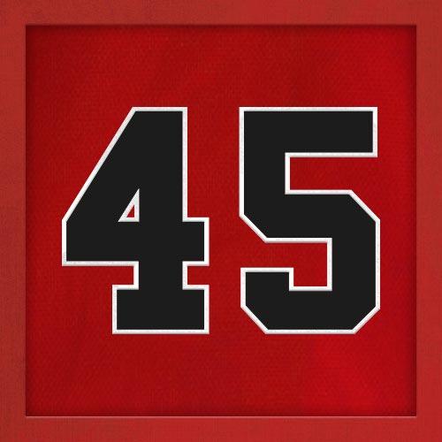 Dorsal numero 45