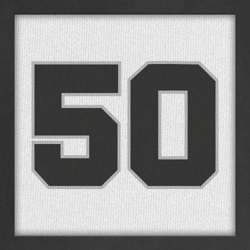 Dorsal numero 50