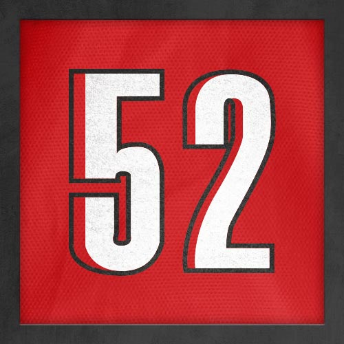Dorsal numero 52