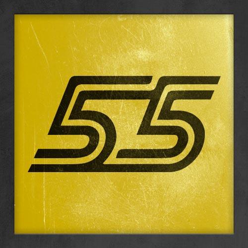 Dorsal numero 55