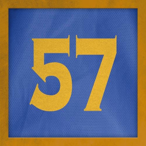 Dorsal numero 57
