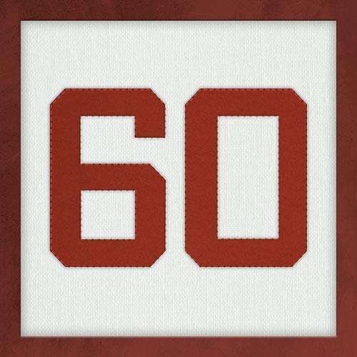 Dorsal numero 60