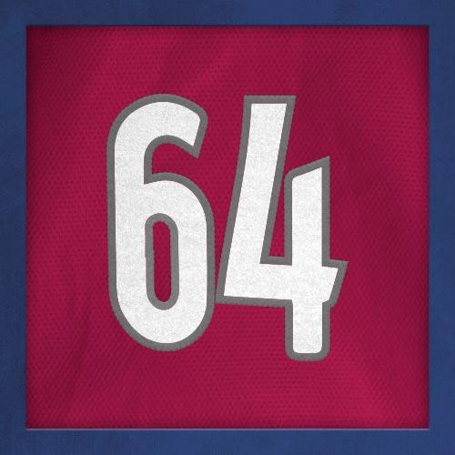 Dorsal numero 64