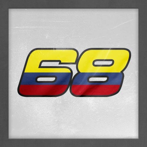 Dorsal numero 68
