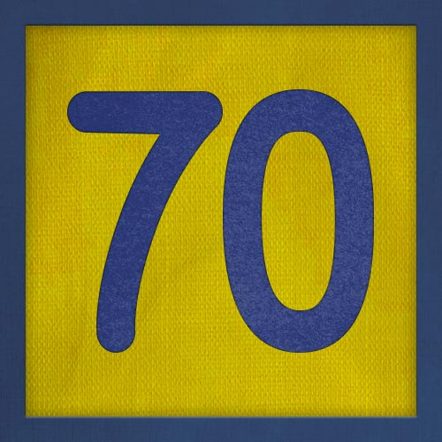 Dorsal numero 70