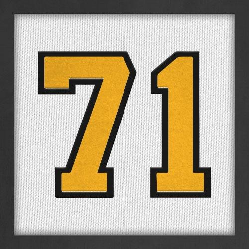 Dorsal numero 71