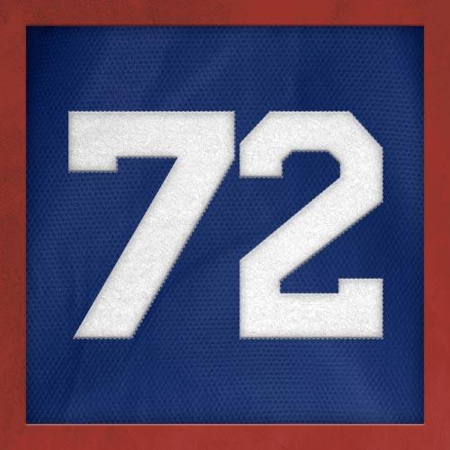 Dorsal numero 72