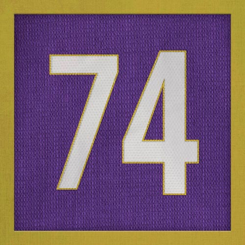 Dorsal numero 74