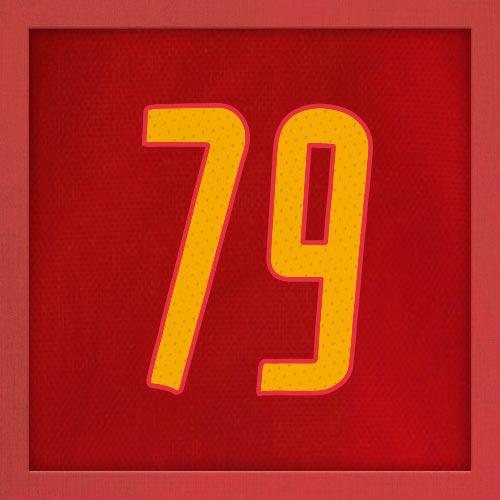 Dorsal numero 79