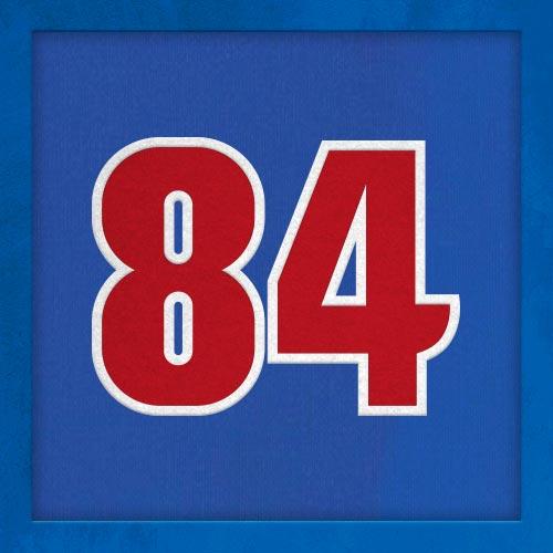 Dorsal numero 84