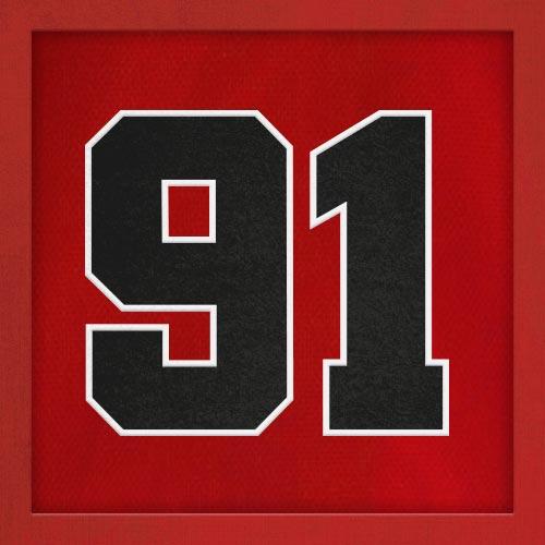 Dorsal numero 91