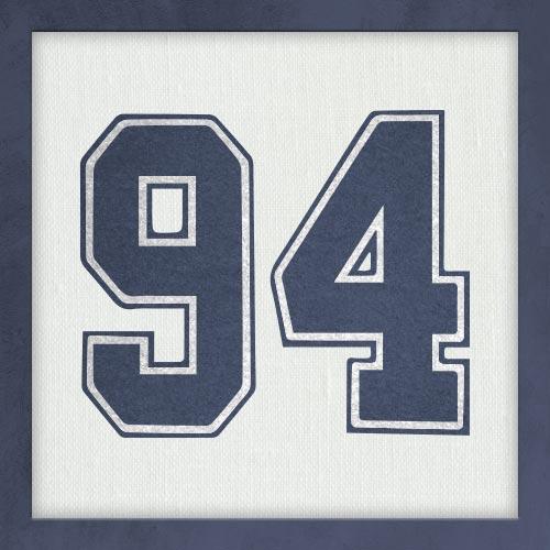 Dorsal numero 94