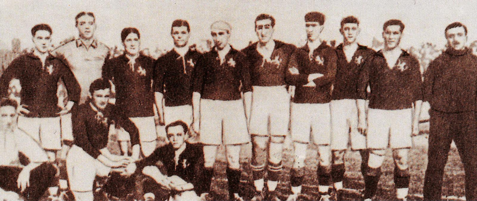 Selección Española Amberes 1920