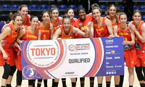Equipo femenino baloncesto