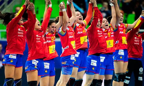 Equipo femenino Balonmano