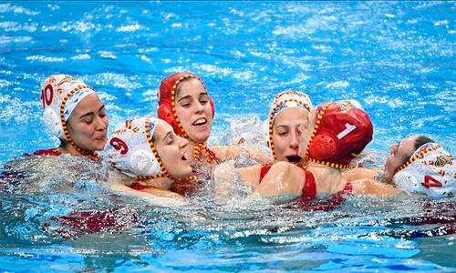 Equipo femenino Waterpolo