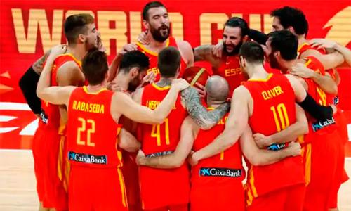 Equipo masculino baloncesto