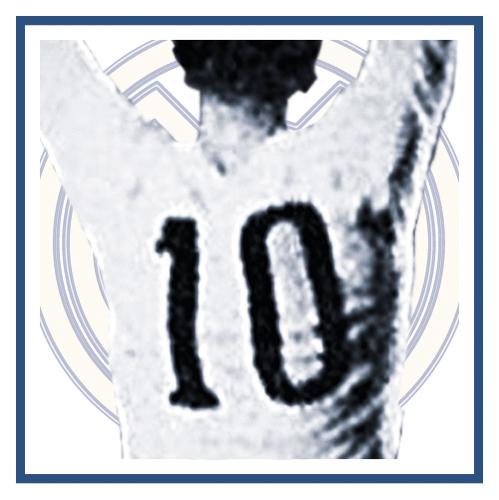 Dorsal numero 10